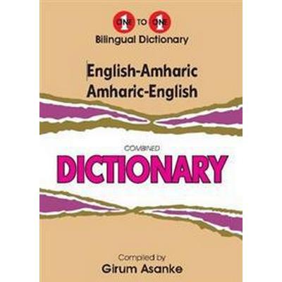 English-AmharicAmharic-English One-to-One Dictionary (Inbunden, 2013)