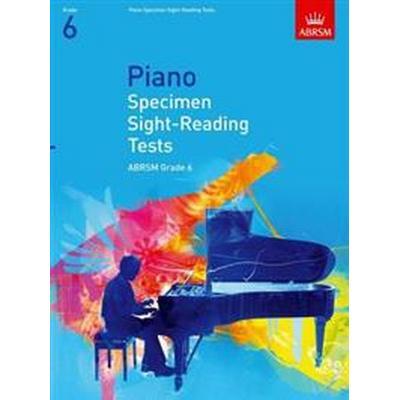 Piano Specimen Sight-Reading Tests, Grade 6 (Övrigt format, 2008)