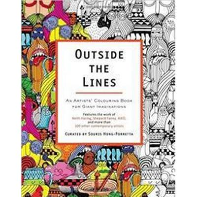 Outside the Lines - An Artists Colouring Book for Giant Imaginations (Pocket, 2014)