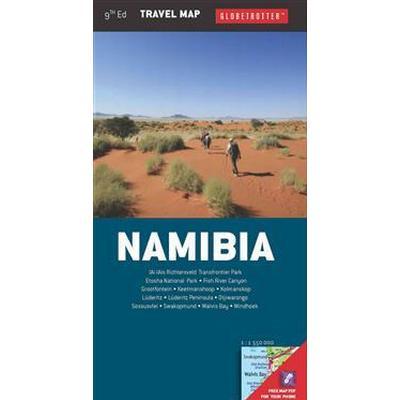 GlobetrotterTravel Map Namibia (Pocket, 2014)