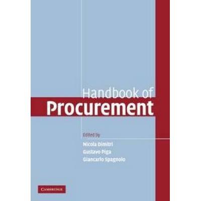 Handbook of Procurement (Häftad, 2011)