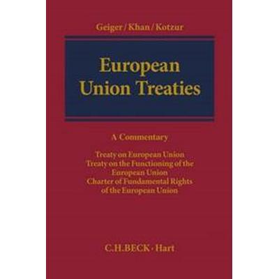 European Union Treaties (Inbunden, 2015)