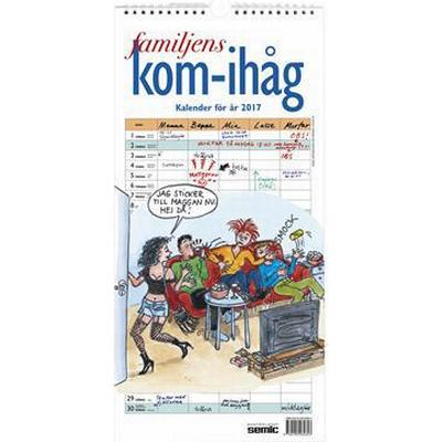 Familjens kom-ihåg-kalender 2017 (Spiral, 2016)