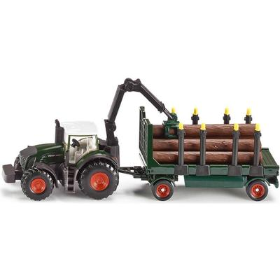 Siku Tractor with Forestry Trailer 1861