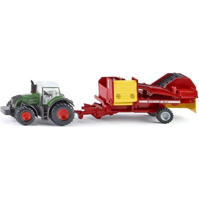 Siku Tractor with Potato Harvester 1808