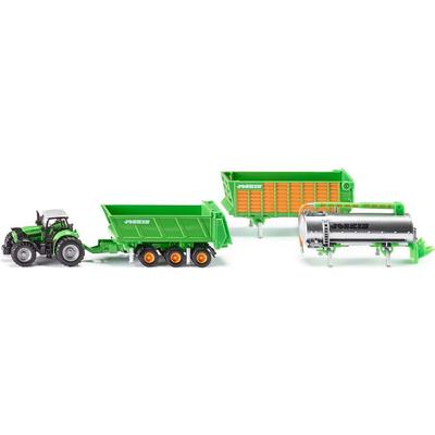 Siku Deutz Fahr with Joskin Trailer Set 1848