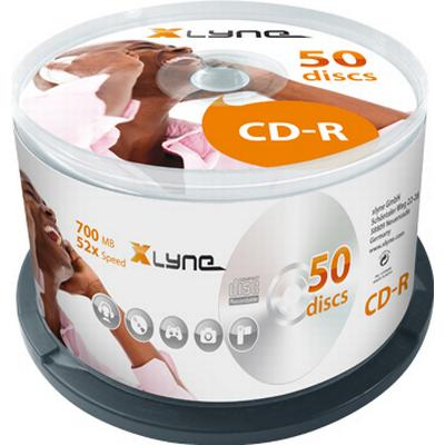 Xlyne CD-R 700MB 52x Spindle 50-Pack