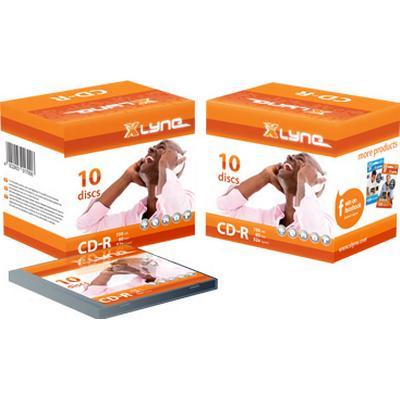 Xlyne CD-R 700MB 52x Jewelcase 10-Pack