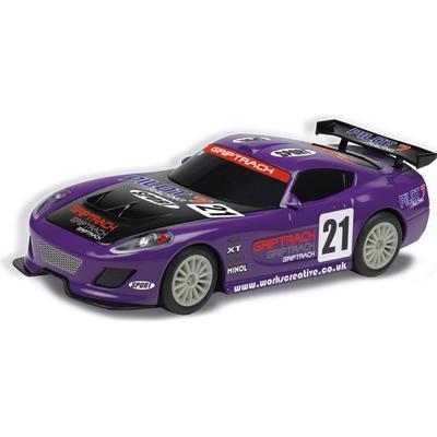 Scalextric GT Lightning Purple C3475