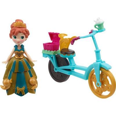 Hasbro Disney Frozen Little Kingdom Anna & Bicycle B5190