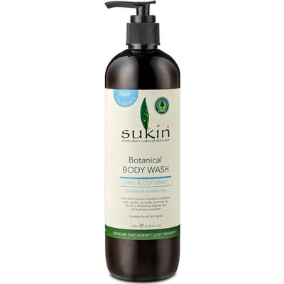 Sukin Botanical Body Wash Lime & Coconut 500ml