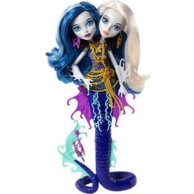 Monster High Great Scarrier Reef Peri & Pearl Serpentine Doll