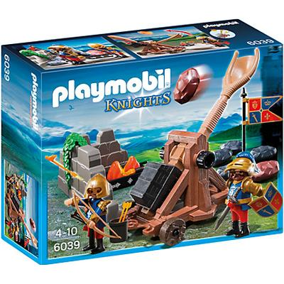 Playmobil Royal Lion Knights Catapult 6039