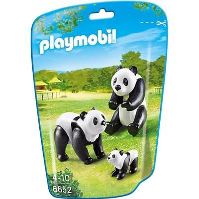 Playmobil Panda Family 6652
