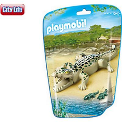 Playmobil Alligator with Babies 6644