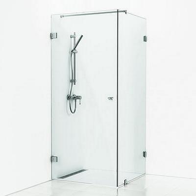 Svedbergs 180º Corner Shower 80 Duschdörr