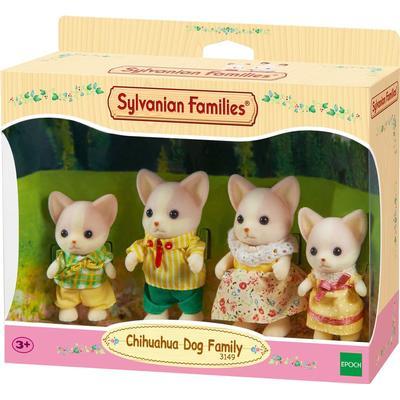 Sylvanian Families Lopez Chihuahua Family