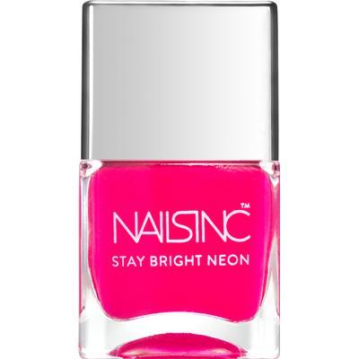 Nails Inc Claridge Gardens Nail Polish Neon Pink
