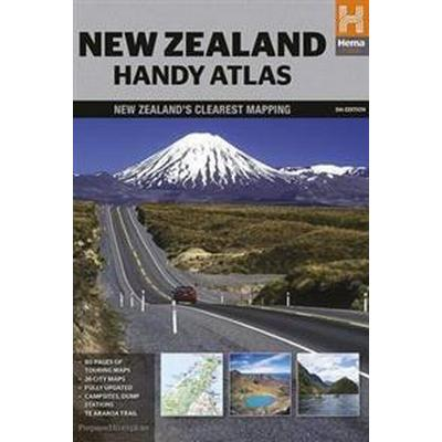 New Zealand Handy Atlas (Häftad, 2014)