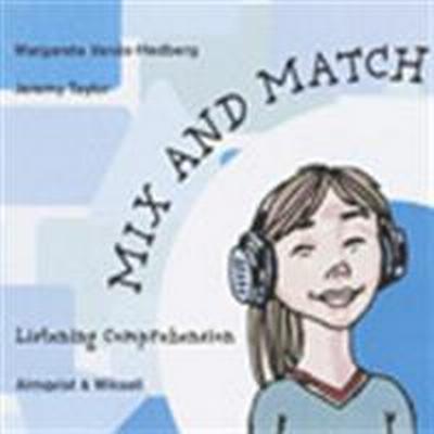 Mix and Match Listening cd-skiva levels 1-3 (Övrigt format, 2000)