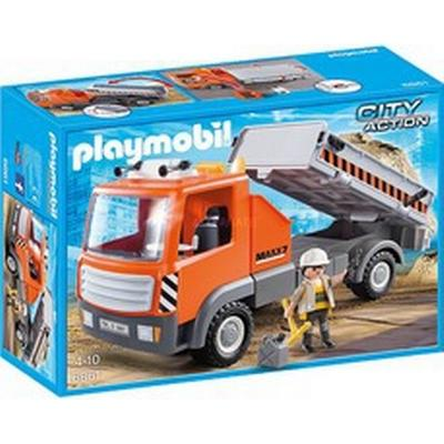 Playmobil Flatbed Workman's Truck 6861