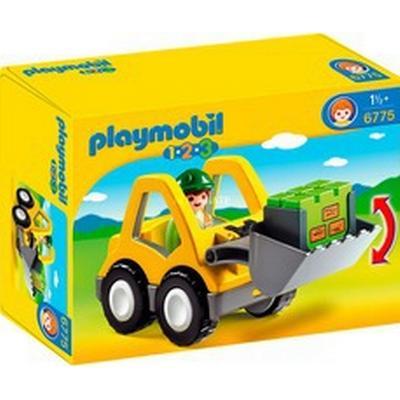 Playmobil 1.2.3 Excavator 6775