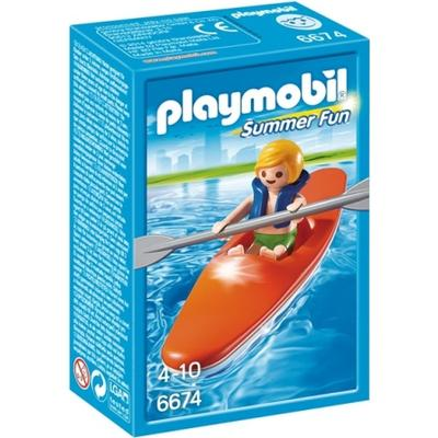 Playmobil Kid with Kayak 6674
