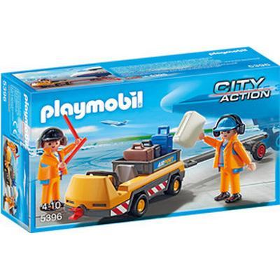 Playmobil Aircraft Tug with Ground Crew 5396