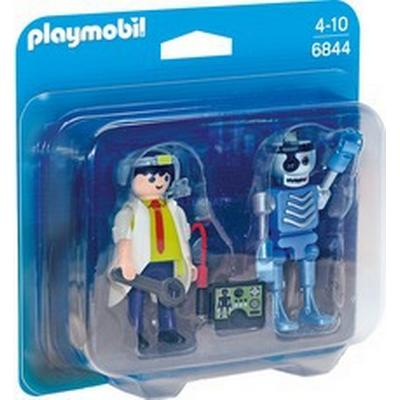 Playmobil Scientist with Robot Duo Pack 6844