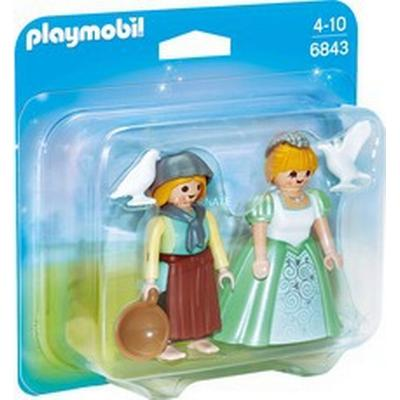 Playmobil Princess & Handmaid Duo Pack 6843