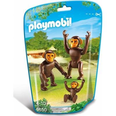 Playmobil Chimpanzee Family 6650