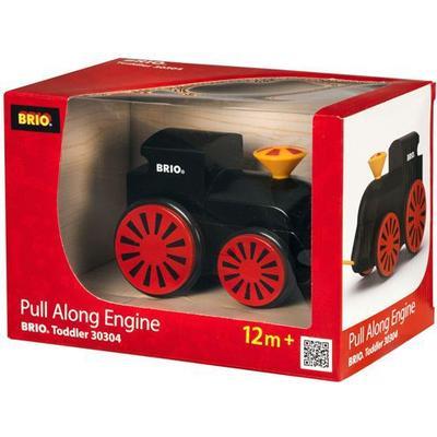 Brio Pull Along Engine Black 30304