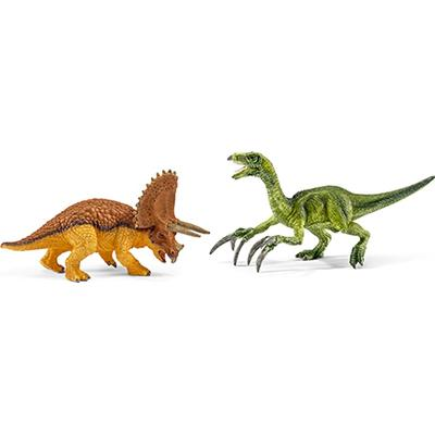 Schleich Triceratops & Therizinosaurus Small 42217