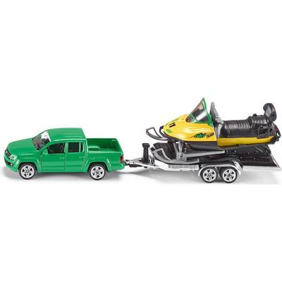 Siku Car with Trailer & Snowmobile 2548