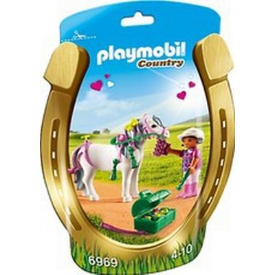 Playmobil Groomer with Heart Pony 6969