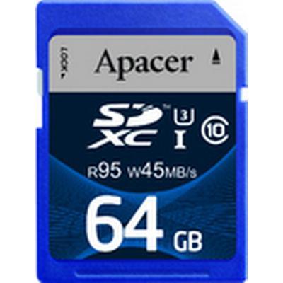 Apacer SDXC UHS-I U3 95/45MB/s 64GB