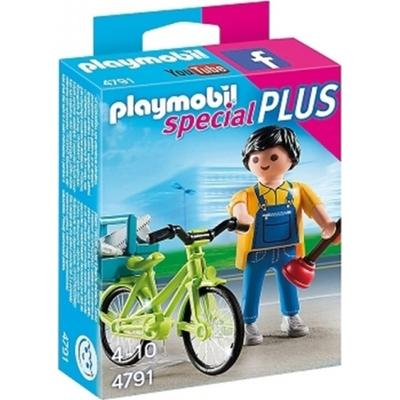Playmobil Handyman with Bike 4791