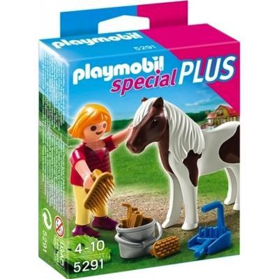 Playmobil Girl with Pony 5291