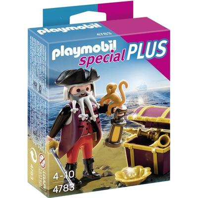 Playmobil Pirate with Treasure Chest 4783