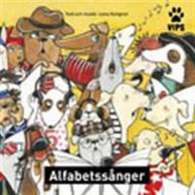Vips Alfabetssånger cd (Övrigt format, 2013)