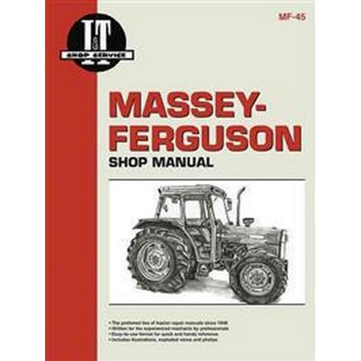Massey Ferguson Shop Manual Models Mf362 365 375 383 390+ (Häftad, 2000)