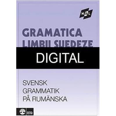 Målgrammatiken Svensk grammatik på rumänska Digital u ljud (12mån) (Övrigt format, 2012)