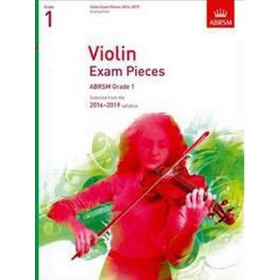 Violin Exam Pieces 2016-2019, ABRSM Grade 1, Score & Part (Övrigt format, 2015)