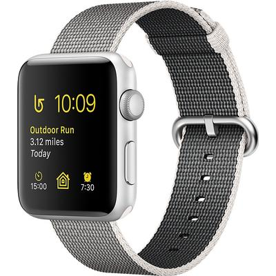 Apple Watch Series 2 42mm Aluminum Case with Woven Nylon