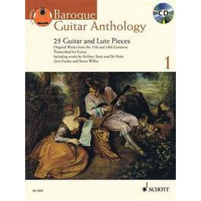 Baroque Guitar Anthology - Volume 1: 25 Guitar and Lute Pieces with a CD of Performances Book/CD (Inbunden, 2011)