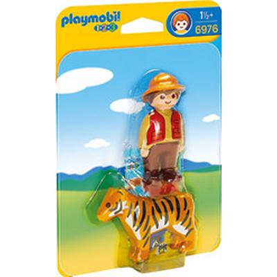 Playmobil Gamekeeper with Tiger 6976