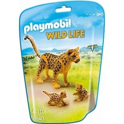 Playmobil Leopard with Cubs 6940