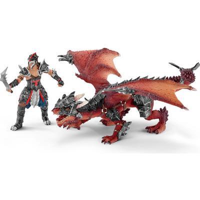 Schleich Warrior with Dragon 70128