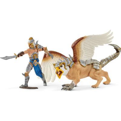 Schleich Warrior with Griffin 70129
