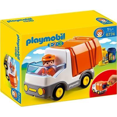 Playmobil 1.2.3 Recycling Truck 6774